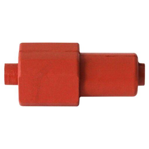 Ficha unipolar goma silicona alta temperatura